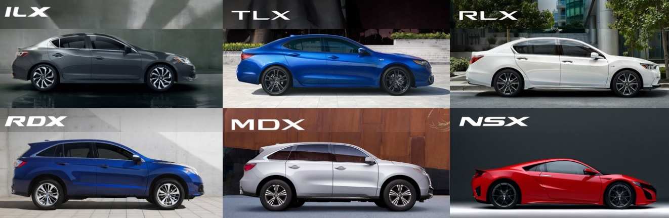 New 2018 Acura model lineup info