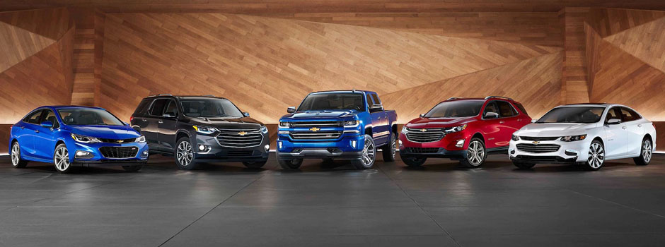New 2018 Chevy model lineup info