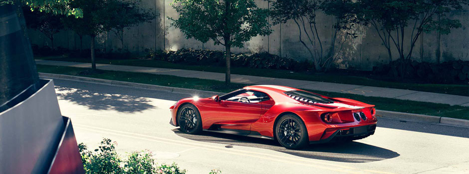 New  Ford Gt Exterior Overview