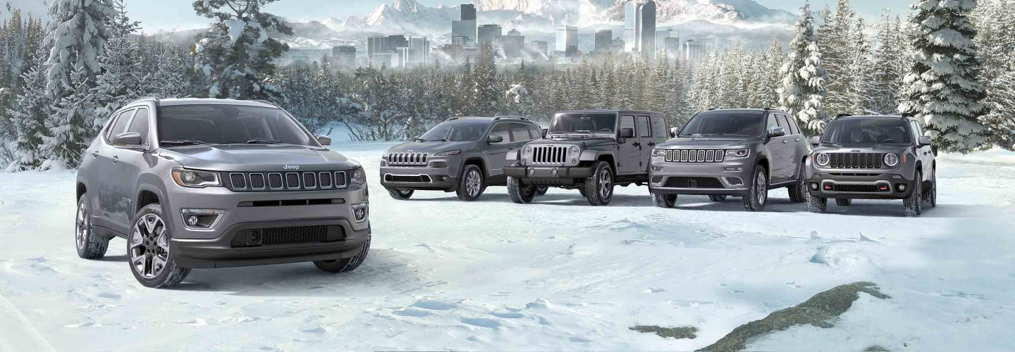 New 2018 Jeep model lineup info